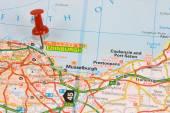 Street Map of  Edinburgh — Stock Photo