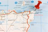 Street Map of  John O' Groats — Stock Photo