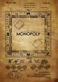 Monopoly Patent — Stock Photo