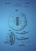 Soccer Ball Patent — Stock Photo