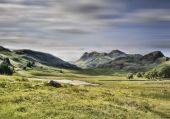 Blea tarn in the lake district — Stok fotoğraf