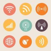 Wireless icon Vector illustration. — Wektor stockowy