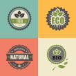BIO stamp ECO, ORGANIC Labels Collection. — Stock Photo #55891399