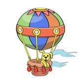 Cartoon Balloon vector — Stock Vector