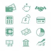 Finance Icons - — Stock Photo