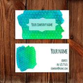 Business cards — Vetor de Stock