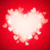 Heart  vector background — Stock Vector