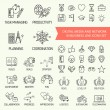 Icons set on business — Stock Vector #60820707