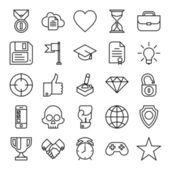 Business innovation  icons — Vector de stock