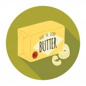 Icon of butter — Stock Vector