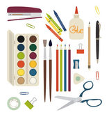 Drawing items. — Stock Vector