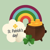 Happy Saint Patrick's Day — Stock Vector