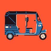 Baby taxi auto rickshaw tuk tuk — Wektor stockowy