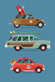 Private transport icons — Wektor stockowy