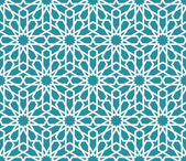 Traditional arabic pattern background — Stock Vector