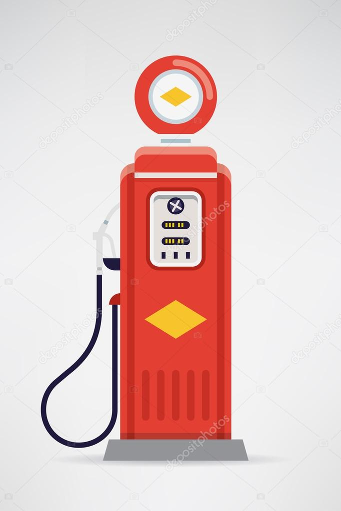 Old Fashioned Gas Pump