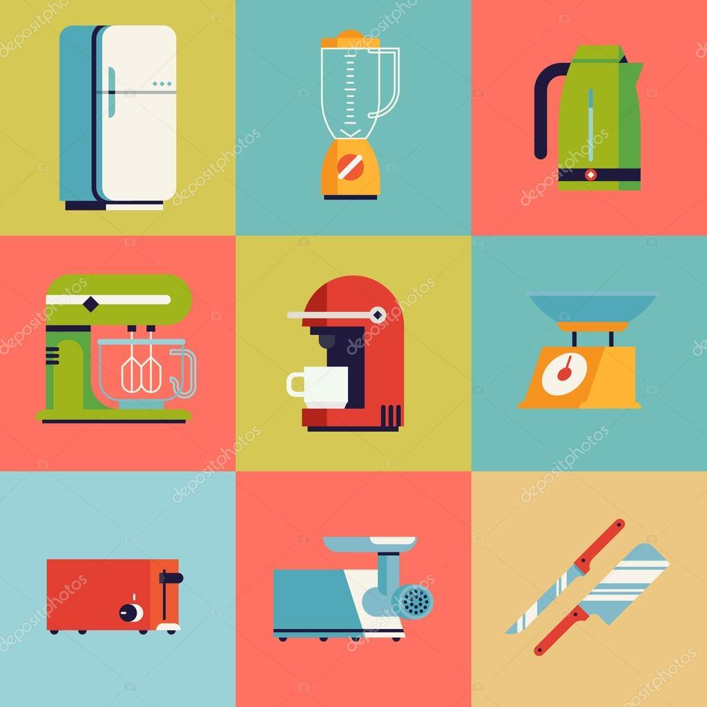 Uncategorized Domestic Kitchen Appliances domestic kitchen appliances stock vector masha tace 84357336 illustration