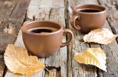 Authum morning coffee cup — Foto de Stock