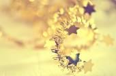 Stylised Christmas decoration background — Stock Photo