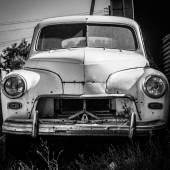 Old Car Pobeda — Stock Photo