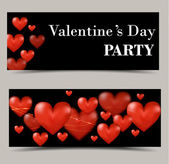 Happy Valentines Day card, great for your design — Vector de stock