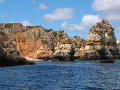 Cliffs on the coast — Stock Photo