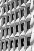 Abstract shapes of a building — Stock Photo