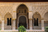 Royals Alcazar of Seville — Stock Photo
