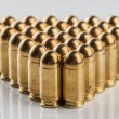 9 mm pistol cartridges — Stock Photo #67106227