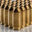 9 mm pistol cartridges — Stock Photo #67106241