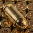 9 mm pistol cartridges — Stock Photo #67106347
