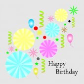 Birthday — Stock Vector