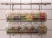 Krydda rack — Stockfoto
