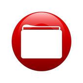 Folder symbol — Stock Vector