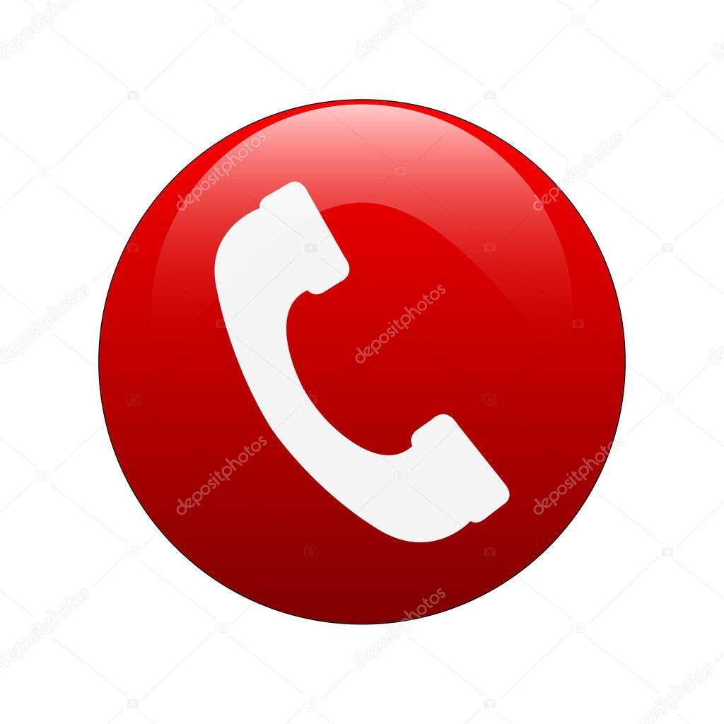 Simbolo telefono — Vettoriali Stock © agongallud #52720445