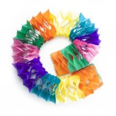 Party decorations garland — Stock Photo