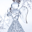 Christmas glass angel — Stock Photo #53397023