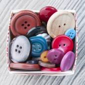 Set of vintage buttons — Stock Photo