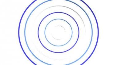 Spread Ring 3D-CG loop video — Stockvideo