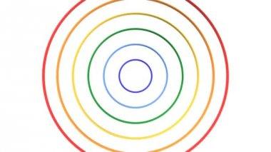 Spread Ring 3D-CG loop video — Stock Video