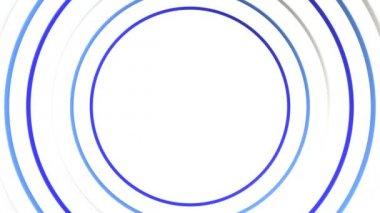 Gather Ring 3D-CG loop video — 图库视频影像
