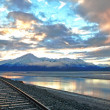Turnagain Arm Sunrise — Stock fotografie #64728323