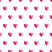 Heart seamless pattern — Stock Vector