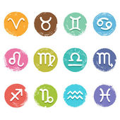 Horoscope set — Stock Vector