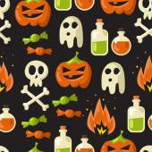 Fondo transparente de Halloween — Vector de stock