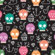 Background for day of the dead — Vector de stock  #55046261