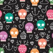 Background for day of the dead — Stock Vector
