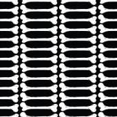 White bone seamless pattern — Stock Vector