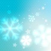 Blurred frosty background — Stock Vector
