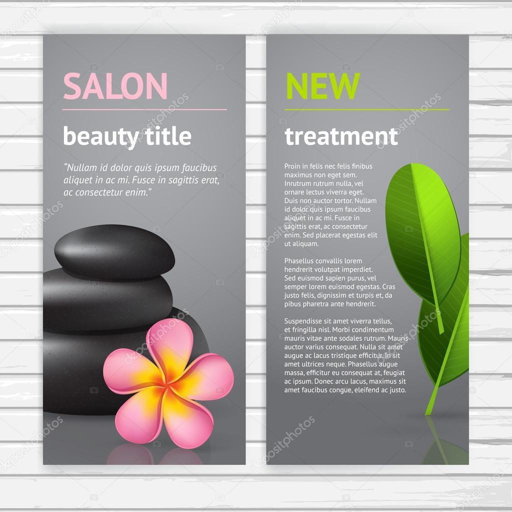 spa advertisement flyer design stock vector copy korinoxe  spa advertisement flyer design stock vector 56669211